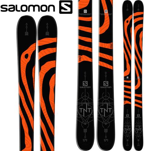 SALOMON サロモン 17-18 スキー ski 2018 TNT (板のみ) フリースタイル パーク パイプ ツインチップ: [2018pt0] [38SSスキー]