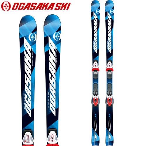 OGASAKA オガサカ 小賀坂 17-18 スキー SKI 2018 TC-JL + SX10 (金具付き) ジュニア 技術選 FIS K1/K2対応: [2018pt0]