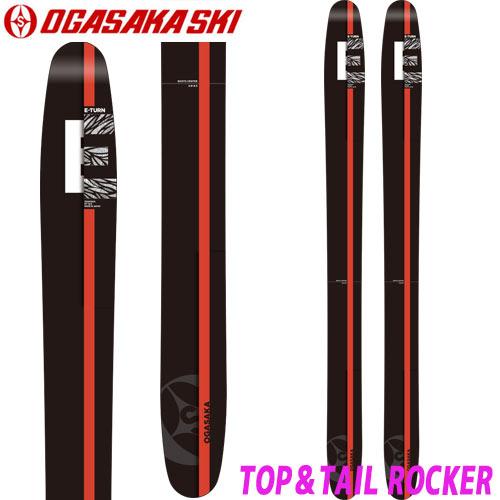 OGASAKA オガサカ 小賀坂 17-18 スキー SKI 2018 ET-12.5 (板のみ) オールマウンテン パウダー: [2018pt0]