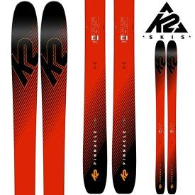 K2 ケーツー 18-19 スキー Ski 2019 PINNACLE 105Ti ピナクル 105ti (板のみ) パウダー ロッカー