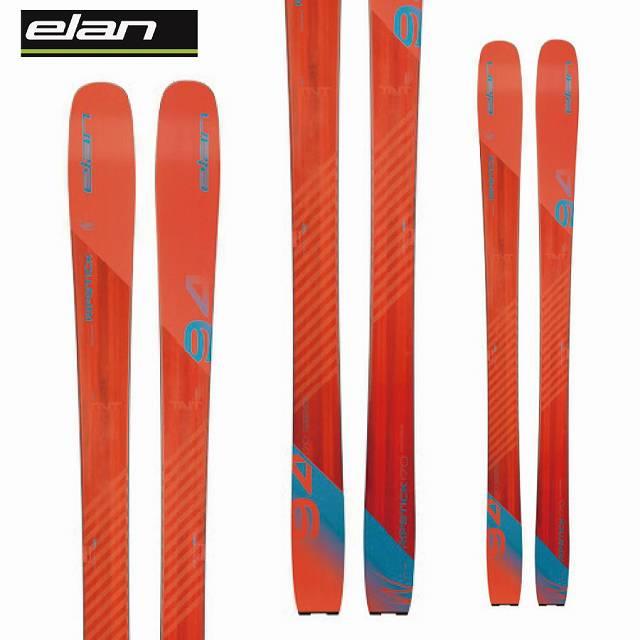 ELAN エラン 18-19 スキー Ski 2019 リップスティック 94 RIPSTICK 94 (板のみ) 軽量 オールマウンテン 山スキー (-):