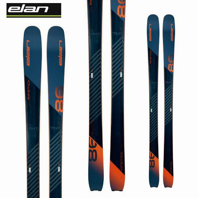 ELAN エラン 18-19 スキー Ski 2019 リップスティック 86 RIPSTICK 86 (板のみ) 軽量 オールマウンテン 山スキー (-):