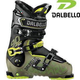 DALBELLO ダルベロ 18-19 IL MORO MX 90 イルモロMX 90 〔2019 スキーブーツ フリースタイル 入門〕 (GR-BK):D181400300