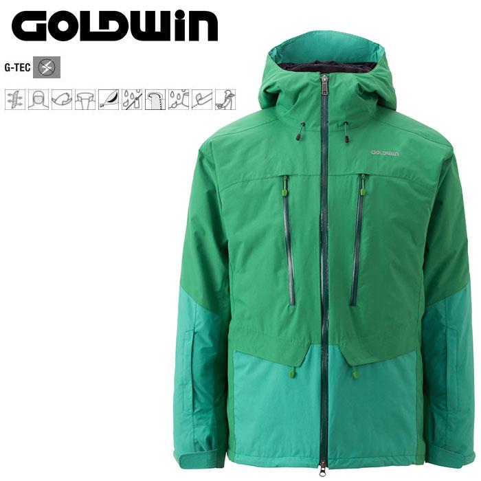 GOLDWIN ゴールドウィン Free Flow Jacket 〔Men's スキーウェア ジャケット〕 (CG):G11523P [40-49ウエア] [56-OUTER¥][34SS-out]