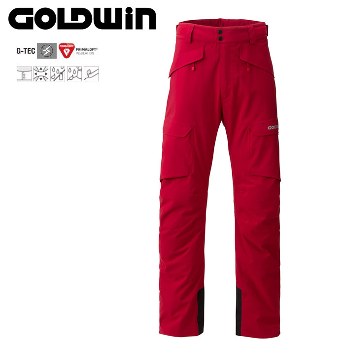 GOLDWIN ゴールドウィン Free Flow Pants 〔Men's スキーウェア パンツ〕 (AT):G31520P [40-49ウエア] [56-OUTER¥][34SS-out]