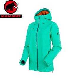 MAMMUT マムート Nara HS Thermo Hooded Jacket Women 防水 透湿 スキー ジャケット 2018FW 18-19 (atoll):1010-25011 [特価マムート]