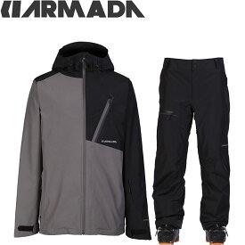 [送料無料] ARMADA アルマダ スキーウェア 18-19 CHAPTER GORE-TEX JACKET Mens JKT & PANTS 上下セット (SLBK):R00004100-R00029110