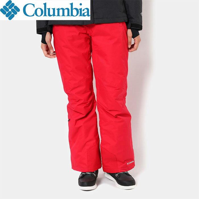 columbia コロンビア 18-19 バガブーオムニヒートパンツ BUGABOO OMNI-HEAT PANT W'sPNT スキーウェア 女性用 (RED-MERCURY):WR1068 [特価コロンビア]