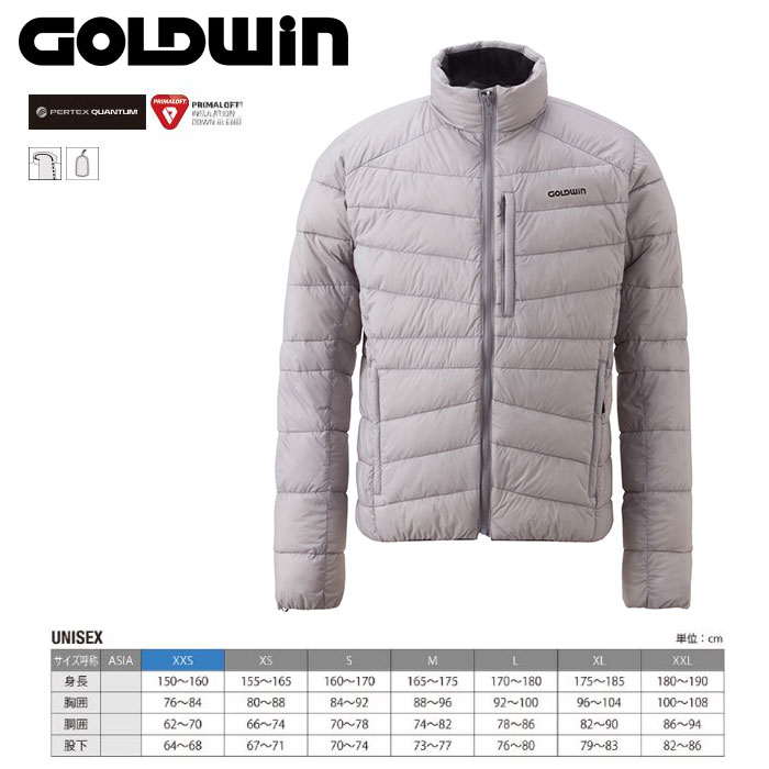 GOLDWIN ゴールドウィン Floater Down Jacket 〔Men's スキーウェア インナーダウンJKT〕 (PH):G51501P [40-49ウエア] [56-OUTER¥][34SS-out]
