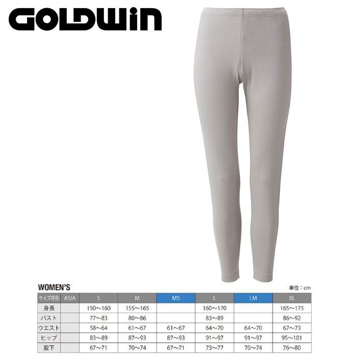 GOLDWIN ゴールドウィンW's Heat Stretch Pants 〔Women's スキーウェア インナーフリースパンツ〕 (CH):GL51563P [40-49ウエア] [56パンツ¥women¥][34SS-out] [pt0]