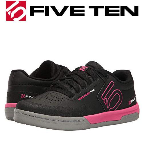 ファイブテン FIVE TEN 5.10 シューズ FREERIDER PRO Women (Black/Pink) レディース 自転車 バイク スケートボード アウトドア (-):