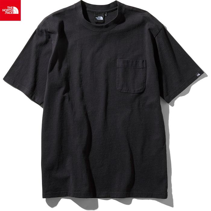 THE NORTH FACE ノースフェイス 2019 SS ショートスリーブガーメントダイヘビーコットンティー S/S GD Heavy Cotton Tee 半袖Tシャツ (K):NT81832