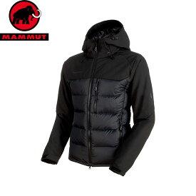 MAMMUT マムート Rime Pro IN Hybrid Hooded Jacket Men ダウン 中綿 インサレーション ジャケット JKT 2018FW 18-19 (black):1013-00640 [特価マムート]