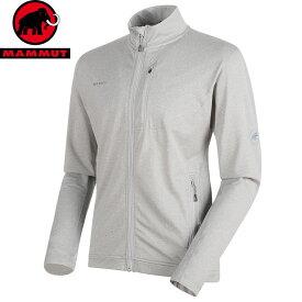 MAMMUT マムート EXCURSION Jacket Men ストレッチ フリース ジャケット ミッドレイヤー 2018FW 18-19 (granit-melange):1014-00540 [特価マムート]
