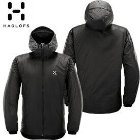 HAGLOFS ホグロフス 18-19 Barrier Hood Men 2019 メンズ インサレーション ジャケット (TRUEBLACK):603745