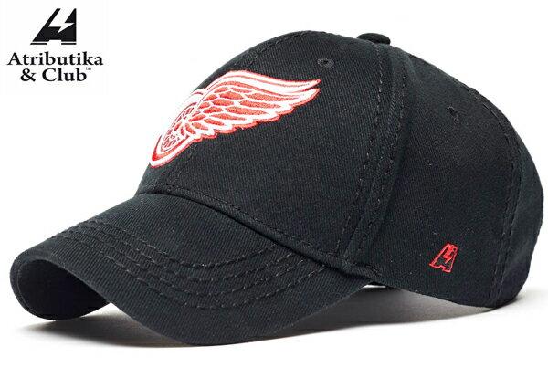 Atributika&Club/アトリブチカ NHLCAP ※デトロイト レッドウイングス黒※ 【NHLグッツ】 #29090