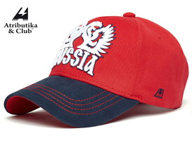 Atributika&Club/アトリブチカ RUSSIACAP STITCH ※ドラゴン赤紺※ 【RUSSIAグッツ】 #10151