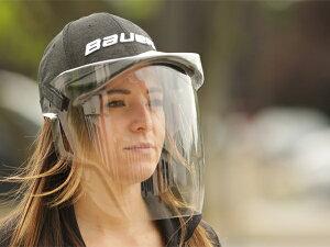 ※返品不可※ BAUER/バウアー INTEGRATED CAP FACE SHIELD 【アイスホッケーフェイスシールド】