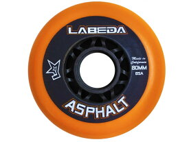 LABEDA/ラベダ ASPHALT HARD オレンジ ※85A※ 《ポスト投函可》【インラインホッケー ウィール】