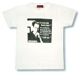 芥川龍之介 Tシャツ 半袖 白 ホワイト 文豪 偉人 我鬼 羅生門 蜘蛛の糸 杜子春 河童