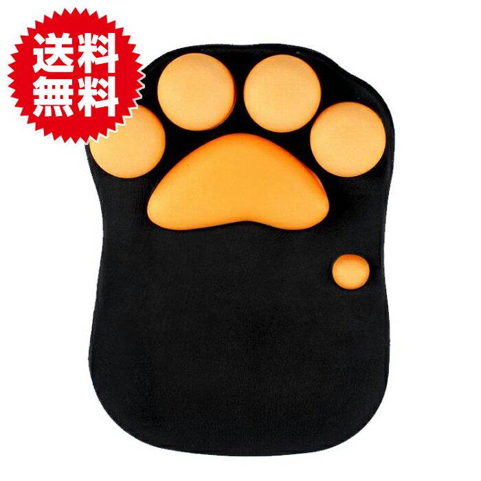 マウスパッド 猫肉球型 猫 肉球 ねこきゅう 手首 サポート フィット リストレスト ねこ かわいい 癒やし ぷにぷに