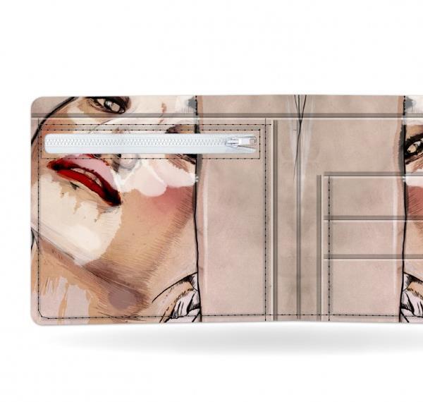 I like paper(アイライクペーパー) ASLEEP 日本初上陸 視線を集めるおしゃれなデザイナーズ ペーパーウォレット 財布 薄く軽い アーティストデザイン デュポン社タイベック製