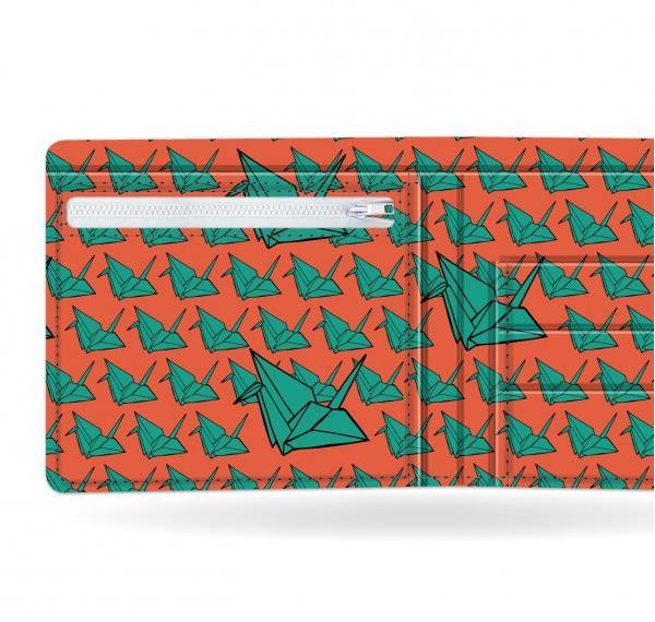 I like paper(アイライクペーパー) PAPIERFLIEGER 日本初上陸 視線を集めるおしゃれなデザイナーズ ペーパーウォレット 財布 薄く軽い アーティストデザイン デュポン社タイベック製