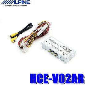 【在庫あり】HCE-V02AR アルパイン RCA映像分配器 アロマコントロール・リアビジョンリンク対応