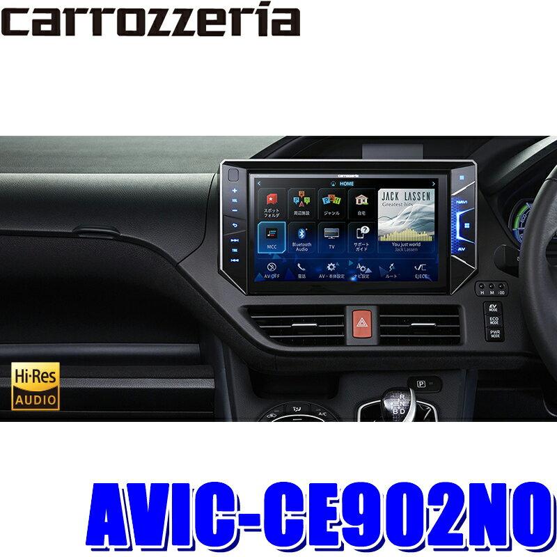 AVIC-CE902NO カロッツェリア サイバーナビ 80系ノア専用10インチワイドWXGAフルセグ地デジ/DVD/USB/SD/Bluetooth/HDMI入力搭載 カーナビゲーション
