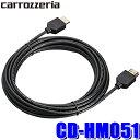 【在庫あり】CD-HM051 カロッツェリア HDMIケーブル5m サイバーナビとリアモニターの高品位接続に