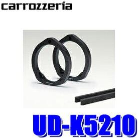 [在庫あり]UD-K5210 カロッツェリア 17cmスピーカー取付用インナーバッフル スタンダードパッケージ トヨタ車用