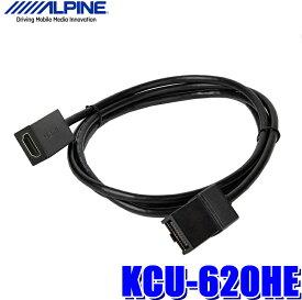 KCU-620HE アルパイン HDMI TypeE→TypeA変換ケーブル NXシリーズナビ用