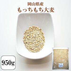 令和元年産 大麦 国内産 もっちもち大麦 950g 1袋 チャック付き 岡山県産 ポイント消化 送料無料 500円ぽっきり ワンコイン 雑穀・雑穀米 古代米 食品 安い お試し 1kg以下 もち麦の代わりに 美
