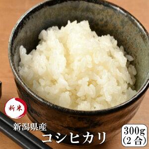 新米 令和元年産 ポイント消化 送料無料 お試し お米 食品 安い 1kg以下 新潟県産コシヒカリ 300g(2合)1袋 メール便