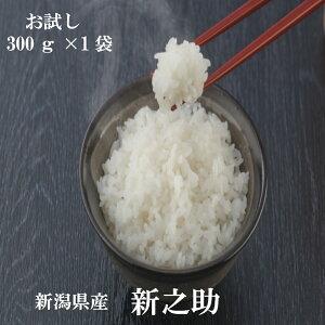 ポイント消化 送料無料 お試し お米 食品 安い 1kg以下 新潟県産新之助 300g(2合)1袋 平成30年産 メール便