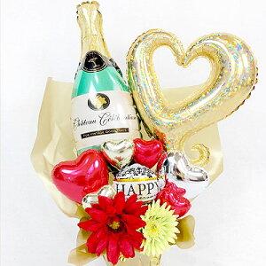 シャンパン バルーン電報 周年祝い 誕生日 キャバクラ バー ホストクラブ BAR スナック ラウンジ クラブ 飲み屋 プレゼント ギフト
