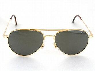 13cbbb7149146 skylife  American optical flight gear General pilot sunglasses Wire Spatula  Gold Silver Black