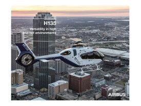 ジャンク品 Airbus H135H poster エアバス ヘリコプター ポスター