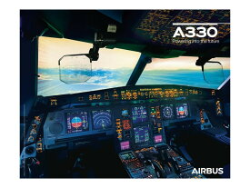 【Airbus A330neo Cockpit View Poster】 エアバス コックピット ポスター