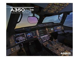 【Airbus A350 XWB Cockpit View Poster】 エアバス コックピット ポスター