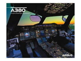 【Airbus A380 Cockpit View Poster】 エアバス コックピット ポスター