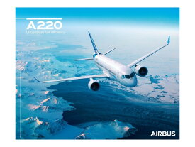 【Airbus A220 Sky View Poster】 エアバス 飛行機 ポスター