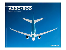 【Airbus A330-900 Flight View Poster】 エアバス 飛行機 ポスター