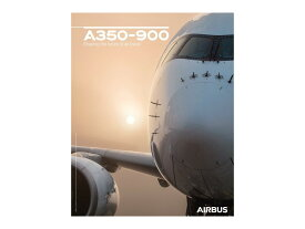 【Airbus A350-900 Front View Poster】 エアバス 飛行機 ポスター