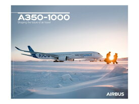 【Airbus A350-1000 on Ground View Poster】 エアバス 飛行機 ポスター