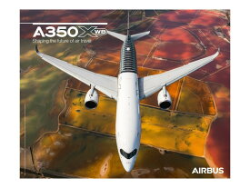 【Airbus A350 XWB Front View Poster】 エアバス 飛行機 ポスター