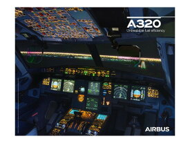 【Airbus A320neo Cockpit View Poster】 エアバス 飛行機 ポスター