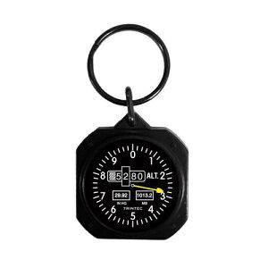 【Trintec Classic Altimeter Keychain】 トリンテック 航空計器 高度計 キーホルダー KC60