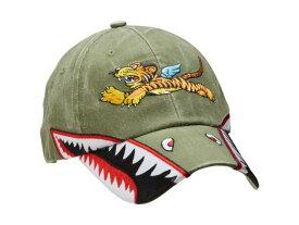 P-40 フライング・タイガース 刺繍 帽子