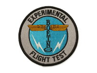 【BoeingTotemFlightTestPatch】ボーイング刺繍ワッペン